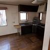 The Idogaya skinny house kitchen.  Yes, it included the dishwasher.